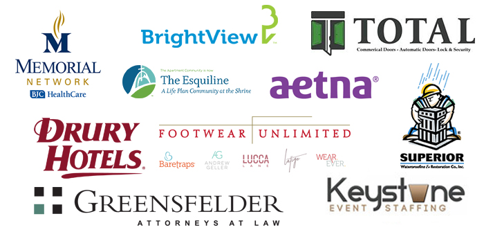 Way of Lights Run Sponsors: Memorial Network, BrightView, Total, The Esquiline, Aetna, Drury Hotels, Footwear Unlimited, Superior, Greensfelder Attorneys at Law, Ketystone Event Staffing