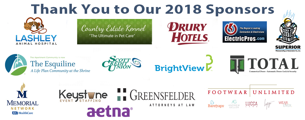 Way of Lights Sponsors: LAshley Animal Hospital, Country Estate Kennel, Drury hotels, Electric Pros, Superior, The Esquiline, Scott Credit Union, BrightView, Total, Memorial Network, Keystone Event Staffing, Greensfelder Attorneys at law, Footwear Unlimited