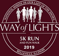 Way of Lights Run Tshirt Logo