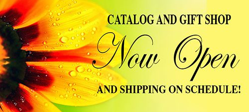 Gift Shop and Catalog Now Open