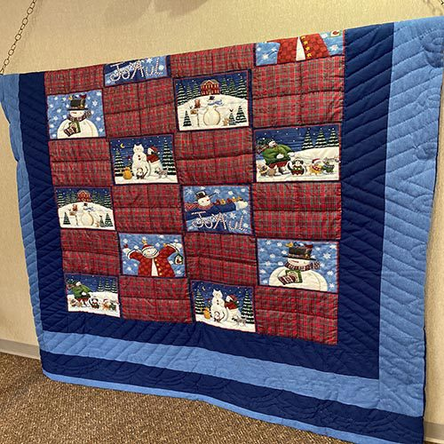 Quilt made by Pat Brandmeyer, Albers, IL