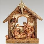 Holy Family Scroll ornament