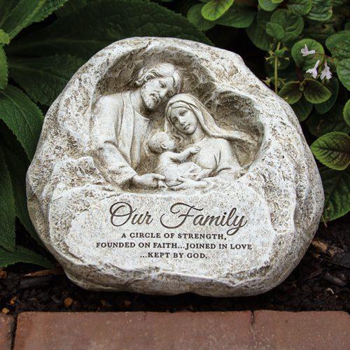 508583 Holy Family Garden Stone
